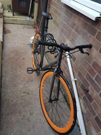 Bricklane fixie bicycle