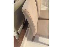 Flynn dining chairs x 8