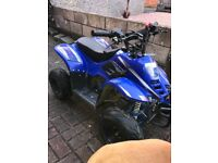 110cc quad bike , quad suit & helmet