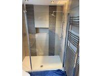 Walk-in shower screen