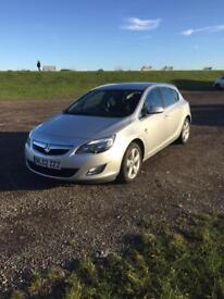 Vauxhall Astra 1.4 Sri 10 plate