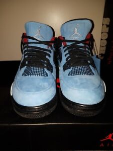 Air Jordan 4 Cactus Jack Travis Scott DS size 12