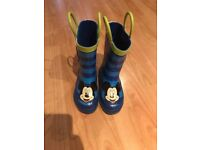 Boys toddler size 6 wellies excellent condition