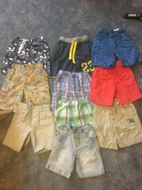 Boys next shorts clothes bundle