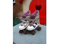 Phoenix Quad Roller skates Pink