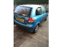Hyundai Getz 1.1 Spares or repairs