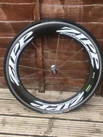 Zipp Firecrest 808 carbon deep section wheels (clincher):