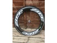 Zipp Firecrest 808 carbon deep section front wheel (clincher):