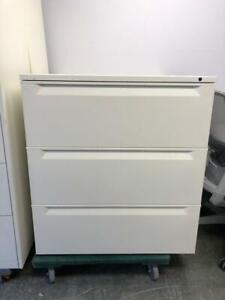 3 Drawer Lateral Filing Cabinet - White - $250