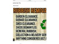 Waste removals house clearances man&van services full waste licensed