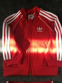 6/9 Months Boys Adidas Tracksuit