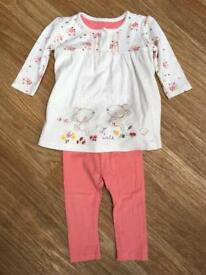 Girls outfit 6-9 months. Mothercare