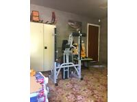 York Heavy Duty 2 in 1 bench press and squat rack