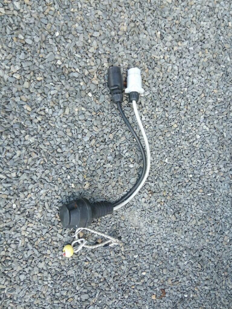 caravan 13 pin to car 7 pin adaptor