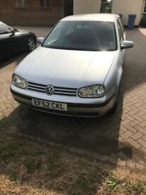 VW golf 1.9TDI