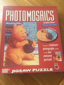 Winnie the Pooh photomosaic