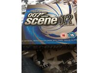 007 James Bond scene it board game