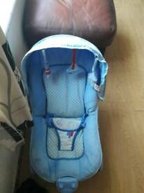 Baby boys bouncer chair for sale just need new batteries for it