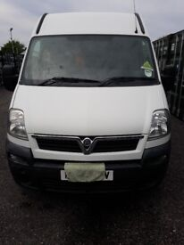 Vauxhall Movano LWB - very low miles, but needs some engine repairs