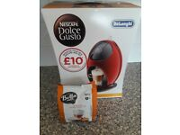 Dolce Gusto Jovia Coffee Machine- Red