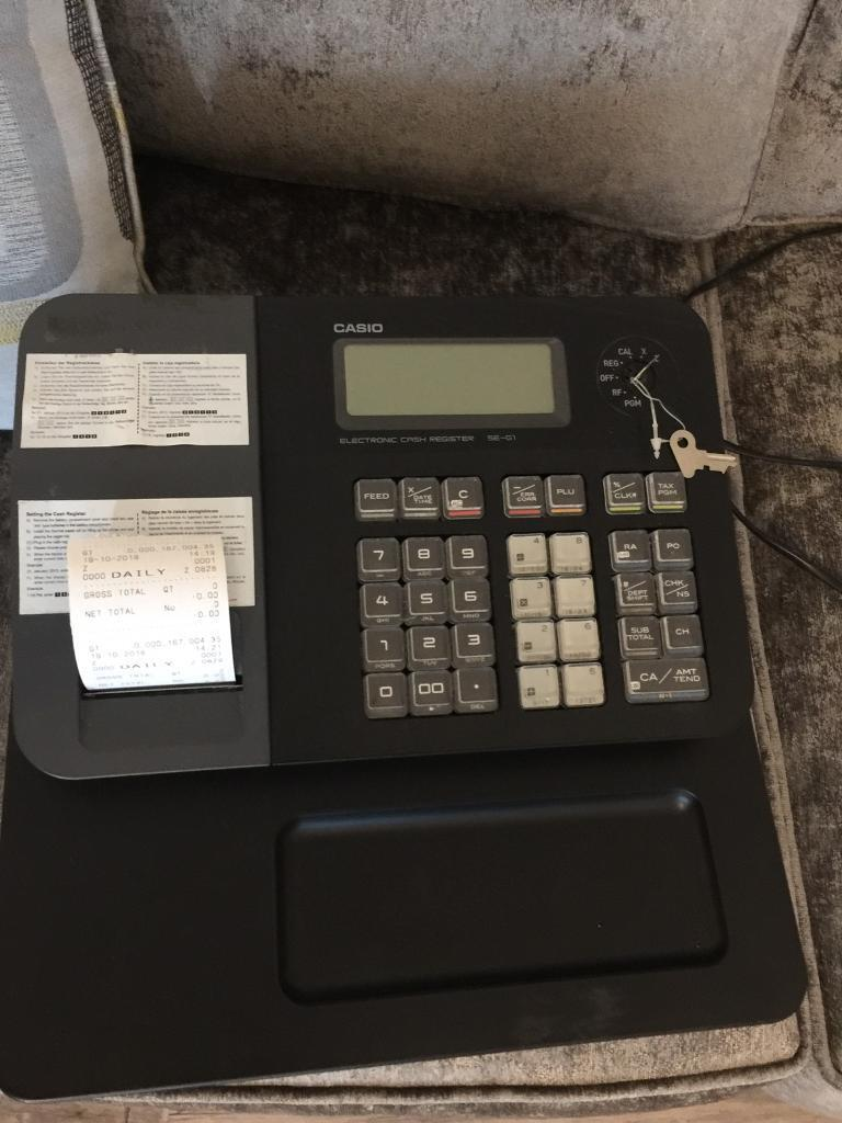 Casio SE-G1 Cash register/Till | in Washington, Tyne and Wear | Gumtree
