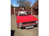 VW GOLF KARMANN CABRIOLET NEW ROOF NEWLY UPHOLSTERED INTERIORS ALL ORIGINAL GREAT RUNNER