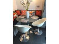 Pair of chairs Ero/s/ by Kartell with Stark