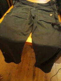 Men work trousers from Dickies size 34
