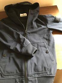 Age 6 Stone Island blue jacket