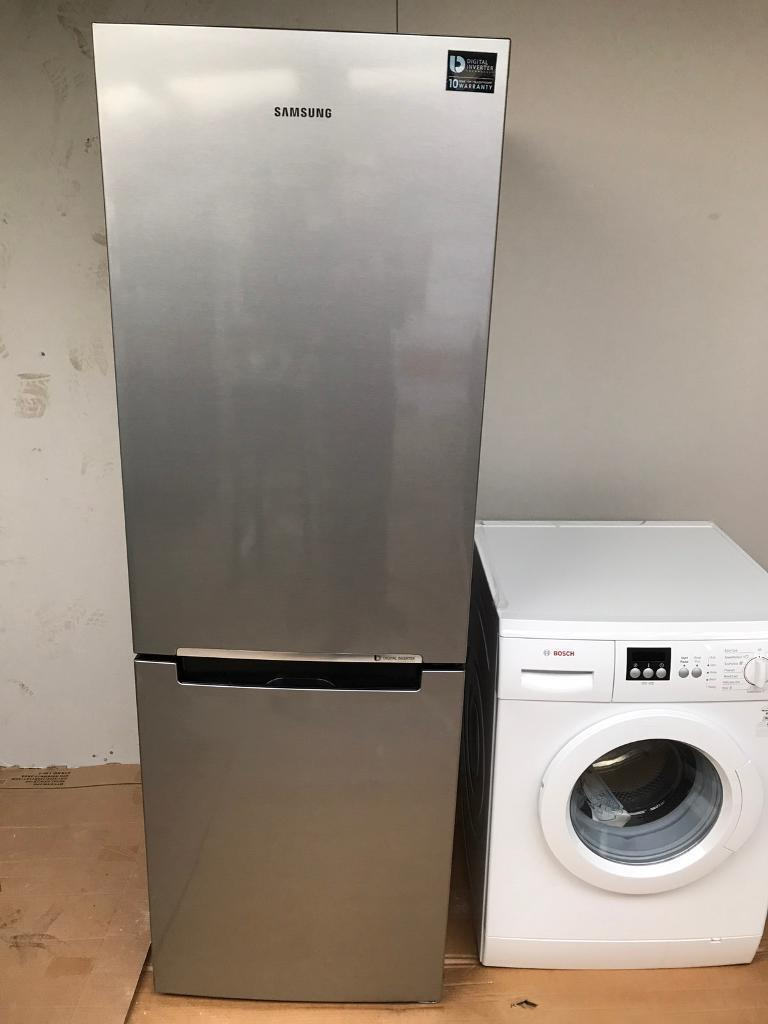 Brand new Samsung stainless steel fridge freezer CURRYS PRICE £499