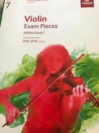 Grade 7 violin music