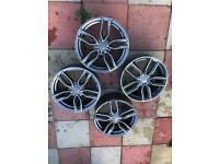 Audi S3 8v Alloy Wheels 2013 5x12 Diamond Cut