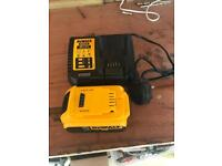 Dewalt 5ah battery and fast charger new