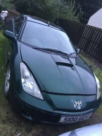 Toyota Celica 1.8vvti 140bhp leather BREAKING PARTS SPARES