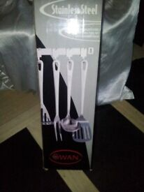 Swan Stainless Steel 6 piece Kitchen Tool Set