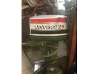 Johnson 25 hp not running.