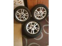 Ford 15inch rims with tyres in good condition