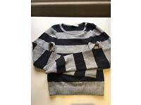 Abercrombie Kids striped jumper XL