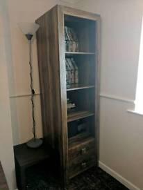 Bookcase Shelving Storage units Walnut
