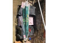 Large greene king new parasol