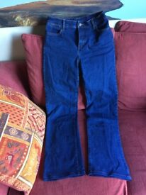 BOOTCUT STRETCH JEANS - SIZE 8