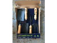Garden Tool set (4 hand tools)