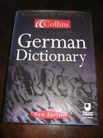COLLINS German-English Dictionary (hardcover)