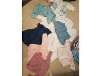 First size/newborn girls clothes