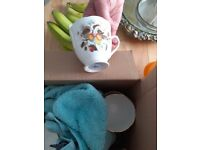 6 cups,saucers and tea plates