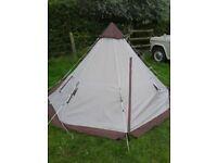 2 berth Teepee Tipi Wigwam Tent