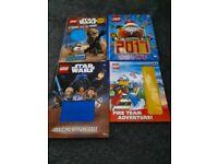 4 lego books