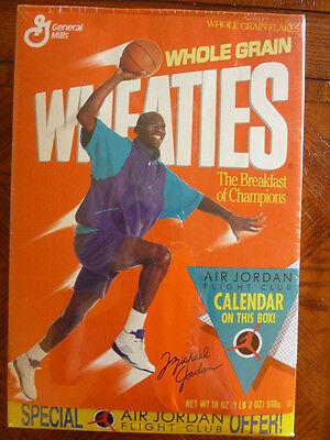 **** 1991 Rare Michael Jordan Unopened Wheaties Box! Chicago Bulls HOF L@@K ****