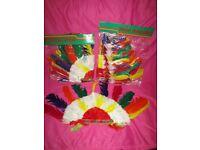 New Indian Chief War Bonnet Head Dress. Fancy Party Theme Novelty Item Headdress, Western Wild West