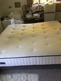 Super king divan base and mattress